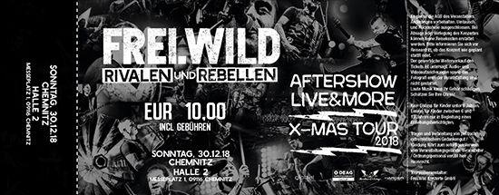 Frei.Wild, 30.12.2018 - R&R LIVE&MORE X-MAS Aftershow Party, Chemnitz[DE], Halle 2