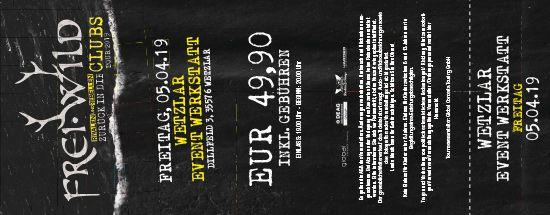 Frei.Wild, 05.04.2019 - Zurück in die CLUBS Tour 2019, Wetzlar [DE], Event Werkstatt