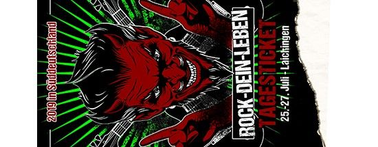 Rock Dein Leben 2019 - Tagesticket Donnerstag, 25.07.2019