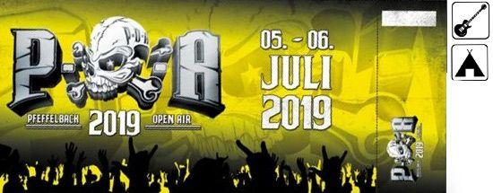 POA Pfeffelbach, WE Ticket (inkl. Camping), 05.-06.07.2019