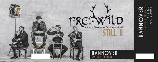 Frei.Wild, 07.12.2019 - STILL II Tour, Hannover [DE], Swiss Life Hall