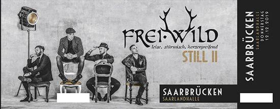 Frei.Wild, 12.12.2019 - STILL II Tour, Saarbrücken [DE], Saarlandhalle