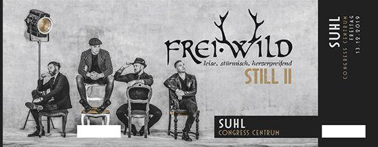Frei.Wild, 13.12.2019 - STILL II Tour, Suhl [DE], Congress Centrum