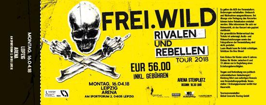 Frei.Wild, 16.04.2018 - Rivalen & Rebellen Arena, Leipzig [DE], Leipzig Arena