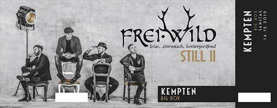 Frei.Wild, 14.12.2019 - STILL II Tour, Kempten [DE], bigBOX